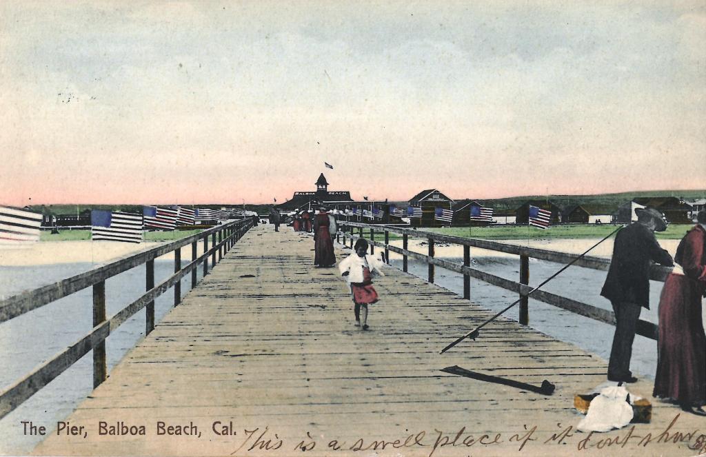 Vintage Balboa Pier